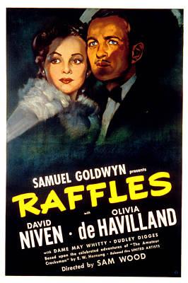 Raffles, Olivia De Havilland, David Print by Everett