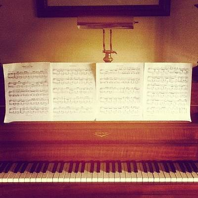 Musical Instruments Wall Art - Photograph - Rag Time Piano by Kayla Mitchell