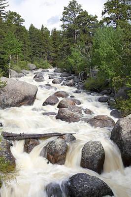 Raging Colorado River Print by Jenna Szerlag