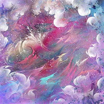 Lightning Digital Art - Raging Dreams by Rachel Christine Nowicki