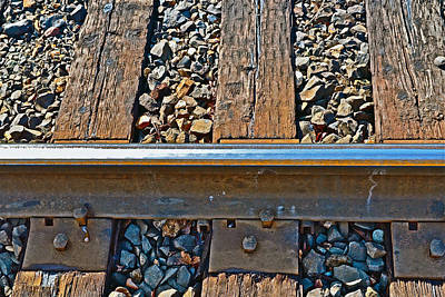 Photograph - Rail by Bill Owen