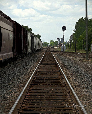 Photograph - Rail Siding by Cheri Randolph
