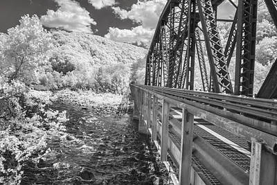 Photograph - Railroad Bridge by Mary Almond