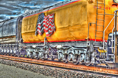 Photograph - Railroad Car by Donna Greene