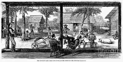Railroad Crew, 1877 Art Print