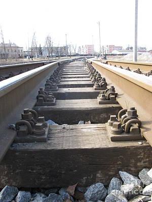 Photograph - Railroad Series 02 by Ausra Huntington nee Paulauskaite