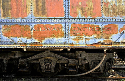 Photograph - Railway Express by Cheri Randolph