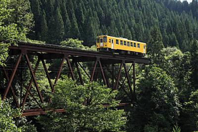 Y120831 Photograph - Railway by Kakki**