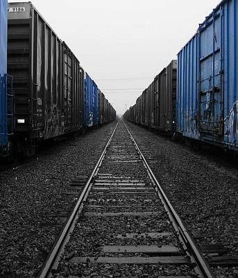 One Wall Art - Photograph - Railway To Nowhere  by Kev Thibault