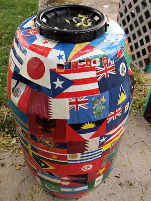 Rain Barrel Art Print by Luis Lugo