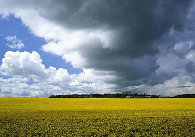 Rain Clouds Art Print by Adrian Bicker