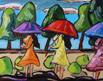 Forecast Painting - Rain Forecast by John Williams