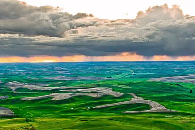 Photograph - Rain by Niels Nielsen