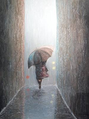 Pastel - Rain by Terry Jackson