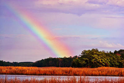 Photograph - Rainbow After The Storm by Kelly Reber
