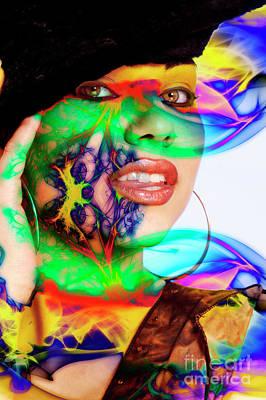 Digital Art - Rainbow Beauty by Clayton Bruster