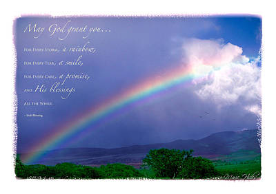 Photograph - Rainbow Blessing by Marie Hicks
