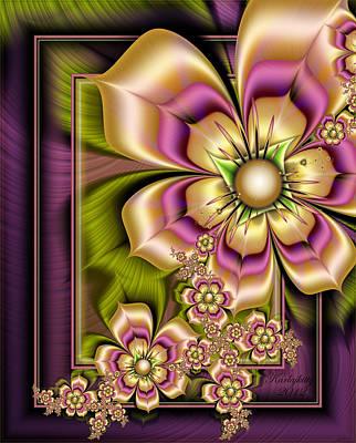 Digital Art - Rainbow Bouquet by Karla White
