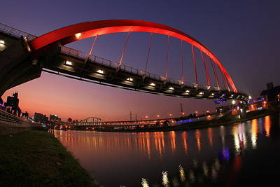 Y120817 Photograph - Rainbow Bridge by Jhhuang