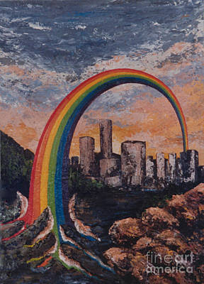 Painting - Rainbow by Eva-Maria Di Bella