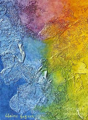 Painting - Rainbow by Claire Gagnon