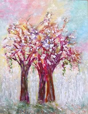 Amazon.com Painting - Rainbow by Edie Schmoll
