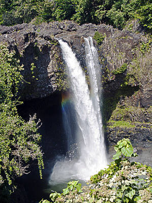Photograph - Rainbow Falls II by Patricia Griffin Brett
