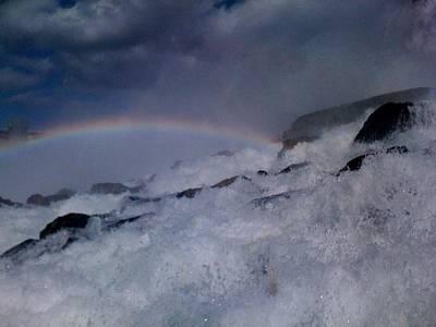 Rainbow Falls Art Print by Matthew Slowik