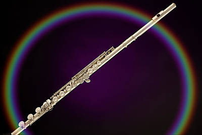 Photograph - Rainbow Flute by M K Miller