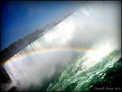 Art Print featuring the photograph Rainbow For The Maid Of The Mist by Danielle  Parent
