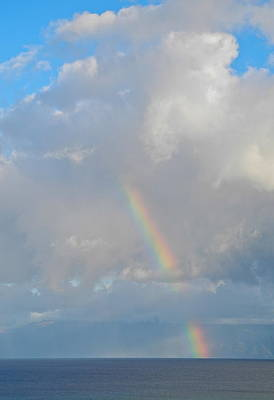 Photograph - Rainbow From Molokai by Kirsten Giving