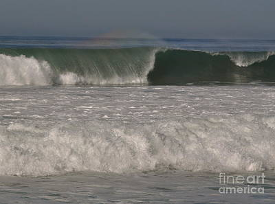 Photograph - Rainbow On The Wave by Johanne Peale