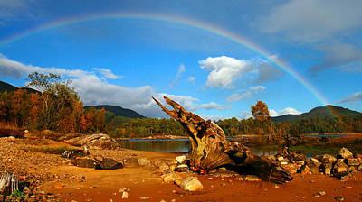 Photograph - Rainbow Over Affric by Gavin Macrae