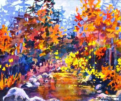 Rainbow River Art Print