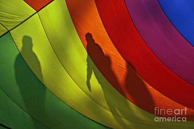 Photograph - Rainbow Shadows by Shawn Naranjo