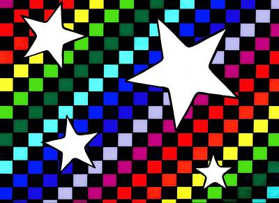 Drawing - Rainbow Starboard by Mandy Shupp