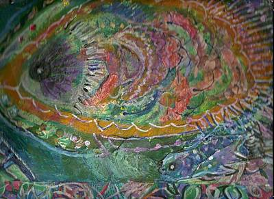 Rainbow Under Water Art Print by Anne-Elizabeth Whiteway