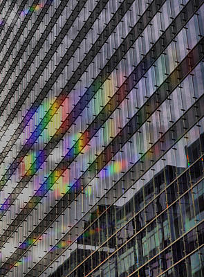 Photograph - Rainbow Windows by Emily Stauring