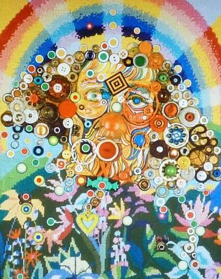 Rainbow Man Art Print