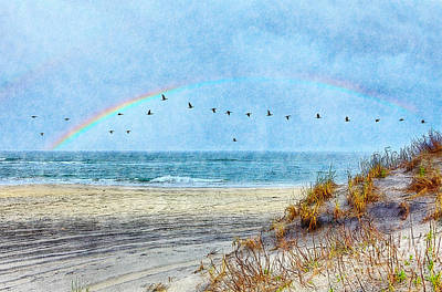 Rainbows And Wings II Art Print by Dan Carmichael