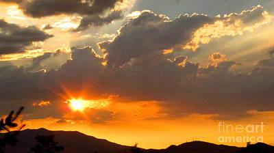 Photograph - Rainey Sunset by Phyllis Kaltenbach