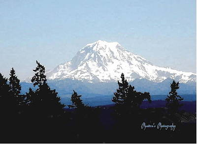 Rainier Reign Art Print by Sadie Reneau