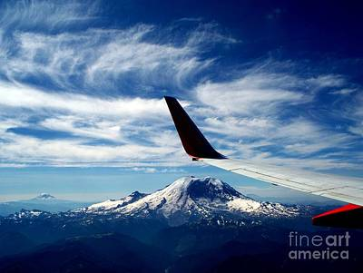Rainier The Beautiful  3 Art Print by Tanya  Searcy