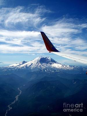 Rainier The Beautiful  4 Art Print by Tanya  Searcy