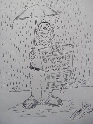 Raining Again 1 Art Print