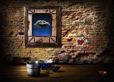 Raining In My Heart Art Print