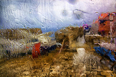 Dubrovnik Croatia Photograph - Rainy Day Abstract 3 by Madeline Ellis
