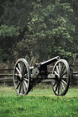 Photograph - Rainy Day On The Battlefield by John Kiss