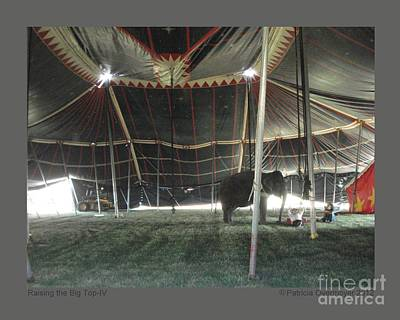Raising The Big Top-iv Art Print