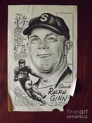 Ralph Ginn Art Print by Steve Bishop